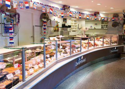 Toonbank Aris Zwarthoed Viswinkel